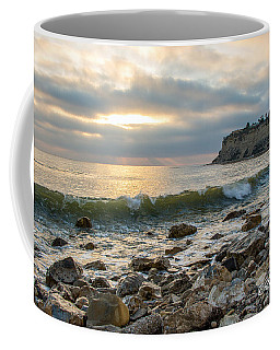 Lunada Bay Coffee Mug by Ed Clark