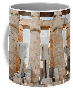 Coffee Mug featuring the photograph Luxor by Silvia Bruno