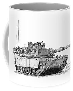 M1a1 Tank Coffee Mug
