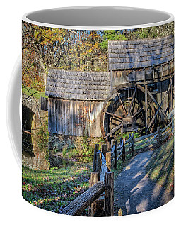 Mabry Grist Mill Coffee Mug by Jane Luxton
