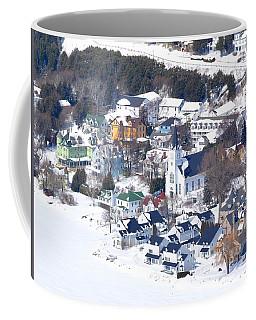 Mackinac Island Winter Coffee Mug
