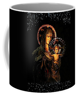 Madonna And Child Coffee Mug