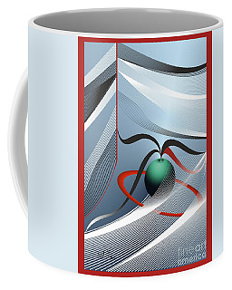 Magnetic Fields Coffee Mug by Leo Symon