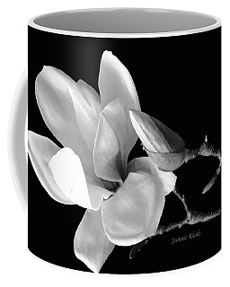 Magnolia In Monochrome Coffee Mug