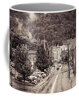 Coffee Mug featuring the photograph Main Street Webster Springs by Thomas R Fletcher