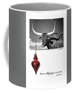 Coffee Mug featuring the photograph Majesty In Simplicity by Lou Novick