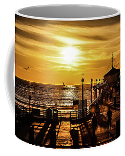 Pier Of Gold Coffee Mug