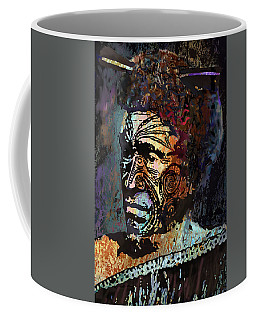 Maori Warrior 1 Coffee Mug by Marlene Watson