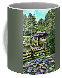 Marby Mill Pathway Coffee Mug by Paul Ward