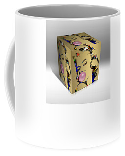 Marilyn Monroe Art Coffee Mug by Marvin Blaine