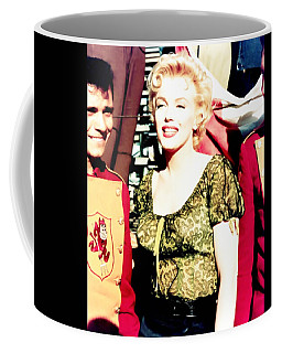 Coffee Mug featuring the photograph Marilyn Monroe by R Muirhead Art