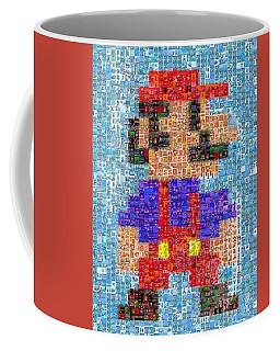 Mario Mosaic Coffee Mug