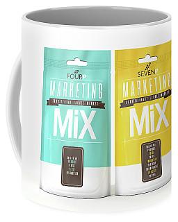 Marketing Mix 4 And 7 P's Coffee Mug