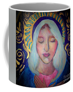 Coffee Mug featuring the photograph Mary by Shirley Moravec