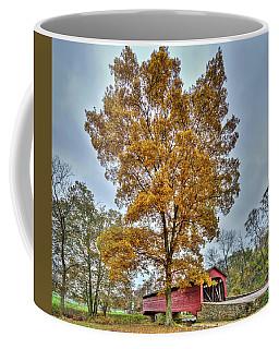 Maryland Covered Bridge In Autumn Coffee Mug