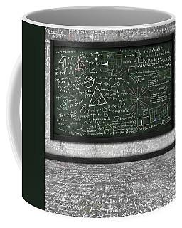 Maths Formula On Chalkboard Coffee Mug