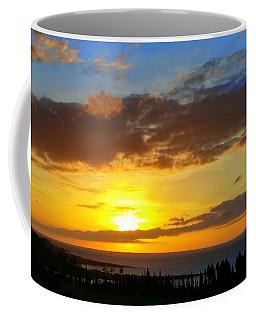 Maui Sunset At The Plantation House Coffee Mug
