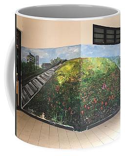 Coffee Mug featuring the painting Memories Of Commonwealth by Belinda Low