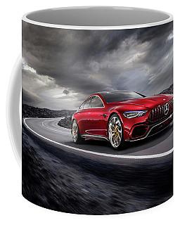 Mercedes A M G   G T Coffee Mug by Movie Poster Prints