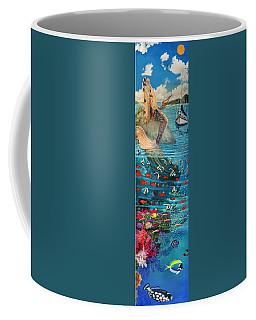 Mermaid In Paradise Coffee Mug