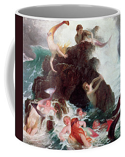 Mermaids At Play  Coffee Mug