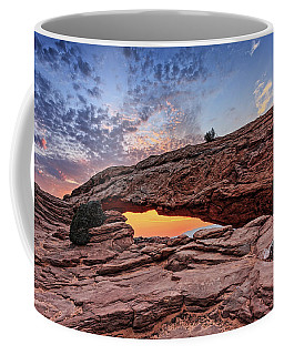 Mesa Arch At Sunrise Coffee Mug