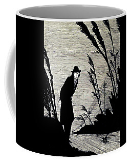 Midst Of All Was A Cold White Face Coffee Mug