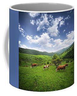 Coffee Mug featuring the photograph Milka by Bess Hamiti