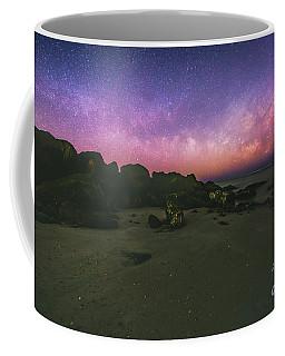 Milky Way Beach Coffee Mug by Robert Loe