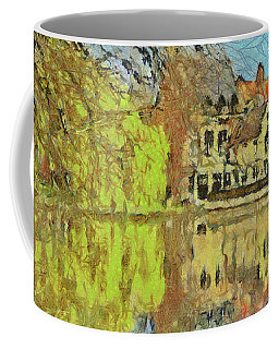Minnewater Lake In Bruges Belgium Coffee Mug