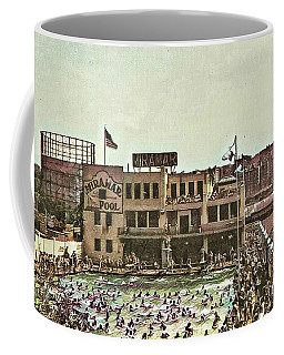 Coffee Mug featuring the photograph Miramar Saltwater Pool  by Cole Thompson