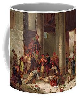 Mischief In The Schoolyard Coffee Mug