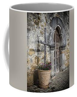 Mission Espada Cross Coffee Mug