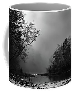 Mist On The River Coffee Mug by James Barber