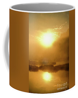 Misty Gold Coffee Mug