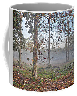 Misty Morning Coffee Mug by Linda Brown