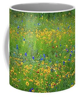 Mixed Wildflowers In Texas 538 Coffee Mug