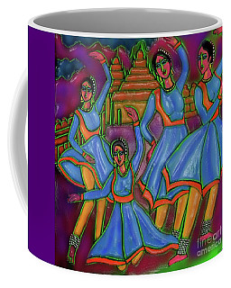 Monsoon Ragas Coffee Mug by Latha Gokuldas Panicker