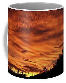 Coffee Mug featuring the photograph Monsoon Sunset July 2016 by Elaine Malott