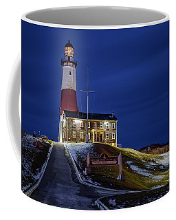 Coffee Mug featuring the photograph Montauk Point Lighthouse by Susan Candelario