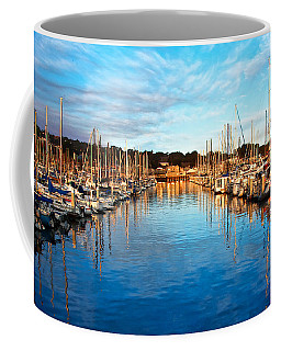 Monterey Marina, California Coffee Mug