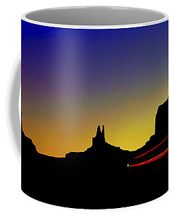 Monument Valley After Glow Coffee Mug