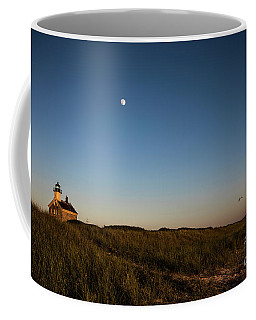 Moon Over The North Light Coffee Mug