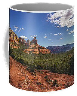 Mormon Canyon Panorama Coffee Mug