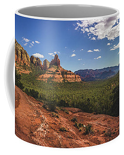 Coffee Mug featuring the photograph Mormon Canyon Panorama by Andy Konieczny