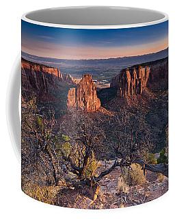 Morning At Colorado National Monument Coffee Mug