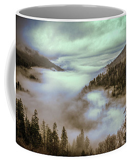 Morning Mountains II Coffee Mug by Rebecca Hiatt
