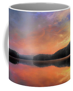 Coffee Mug featuring the photograph Morning Solitude by Darren Fisher