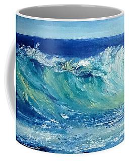 Morning Surf Coffee Mug by Fred Wilson