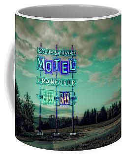 Motel Coffee Mug by Jerry Golab